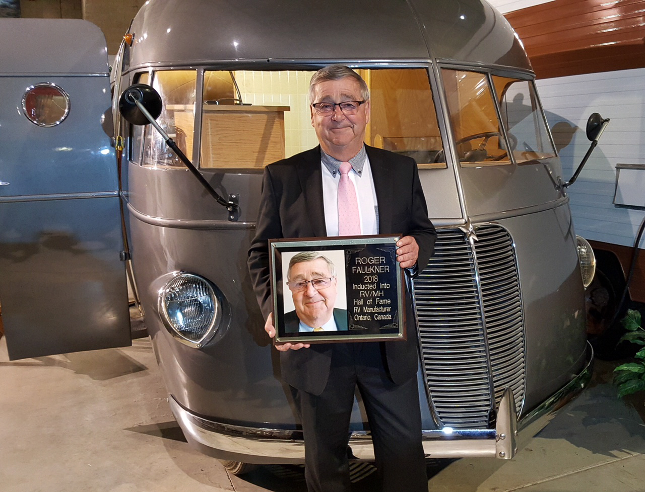 Roger Faulkner Inducted Into Rv Mh Hall Of Fame Rv Dealer News