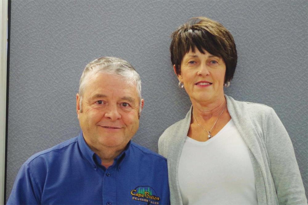 Bruce and Maureen Marsh.