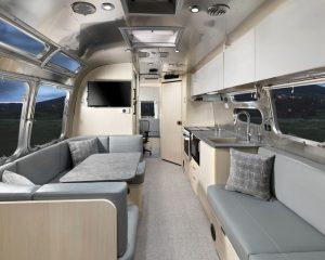 Airstream Flying Cloud 30FB office space